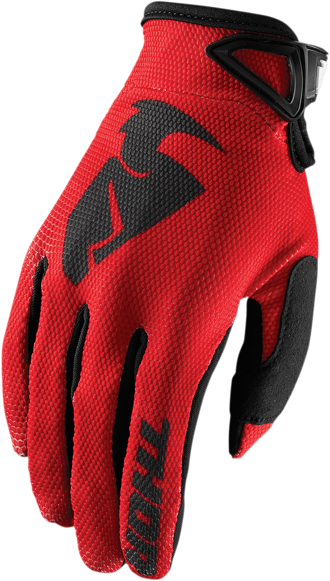 Thor Sector Pair Textile Kids Youth Offroad Riding Dirt Bike Racing MX Gloves