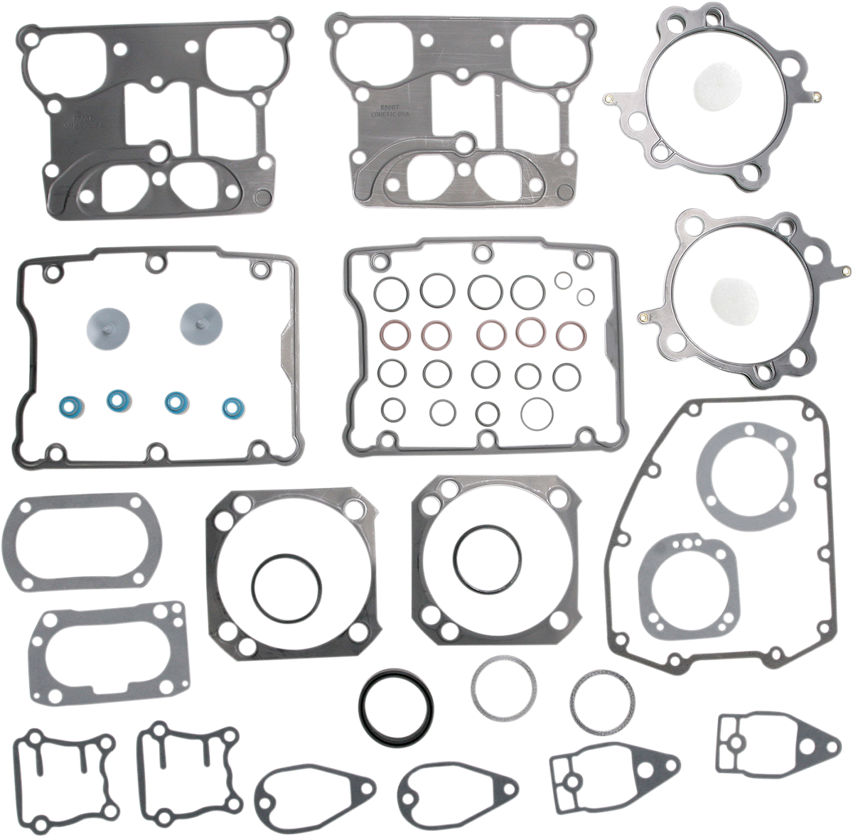 """Cometic 4-1/8"""" Bore Top End Gasket Kit for 99-17 Harley Dyna Touring Softail FXS"""
