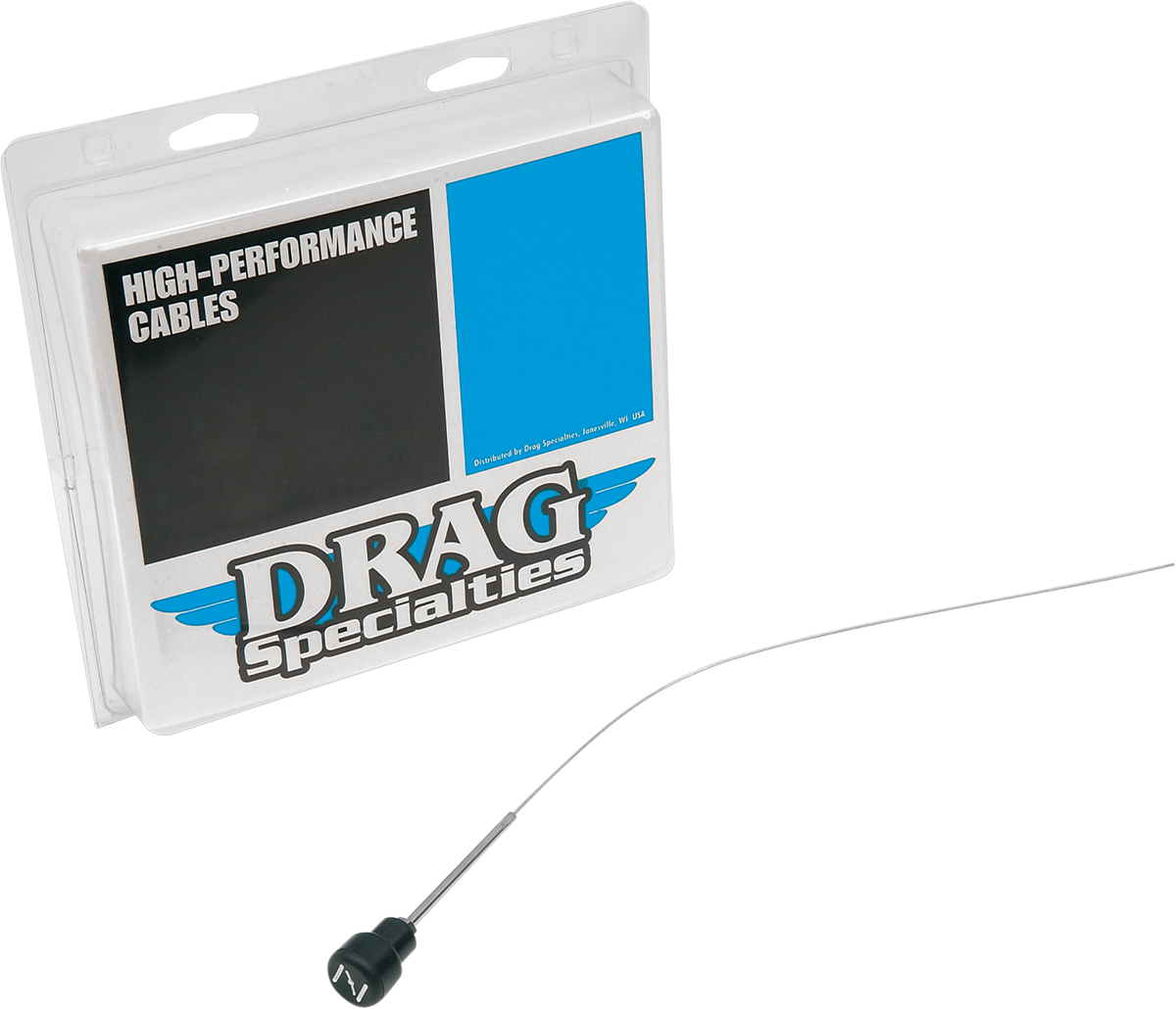 "Drag Specialties 11.2"" Choke Cable for 72-80 Harley Davidson Sportster Dyna FXB"