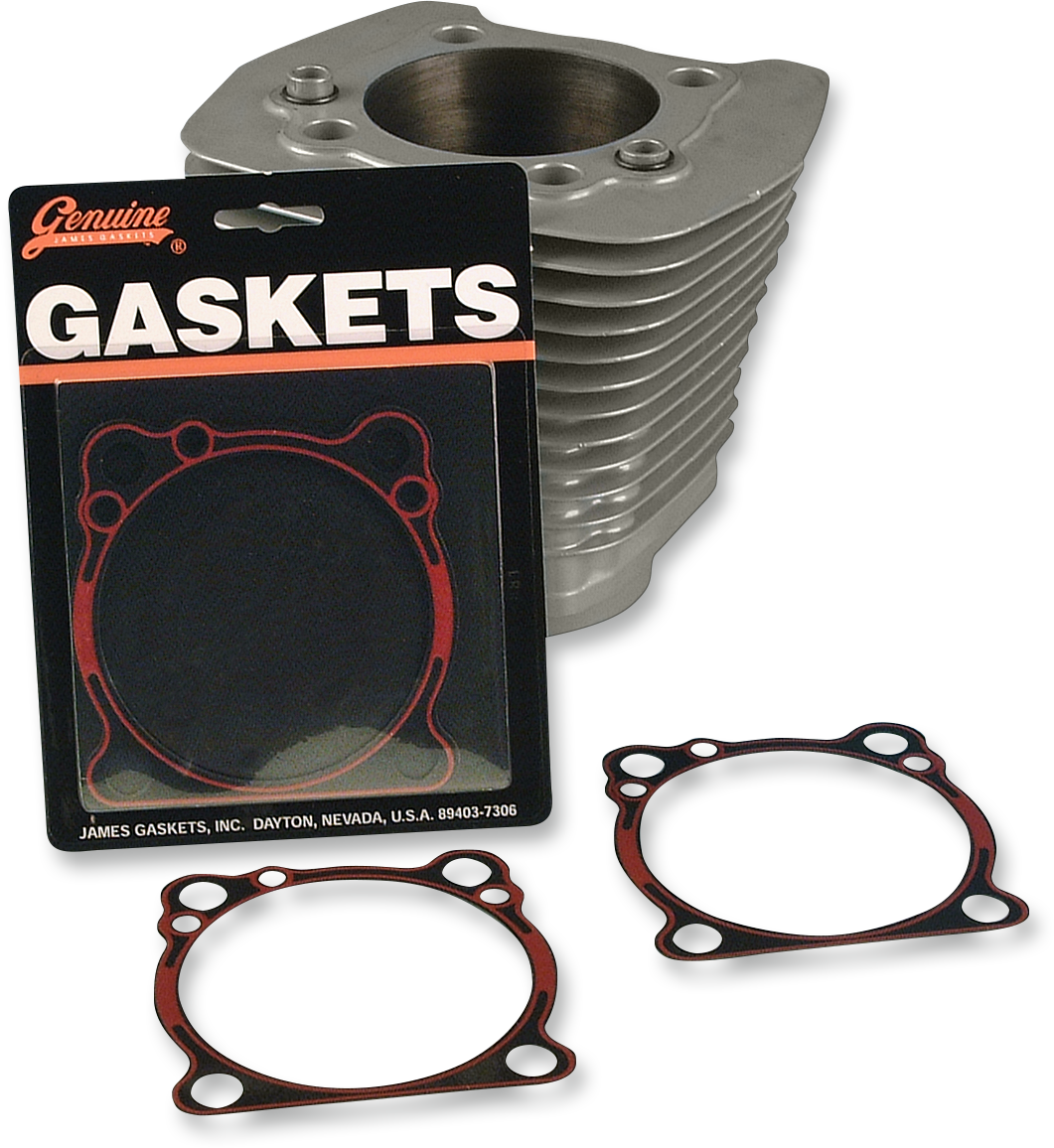 James Gasket Pair Engine Base Gaskets for 86-18 Harley Sportster XL XLH XLL XLR