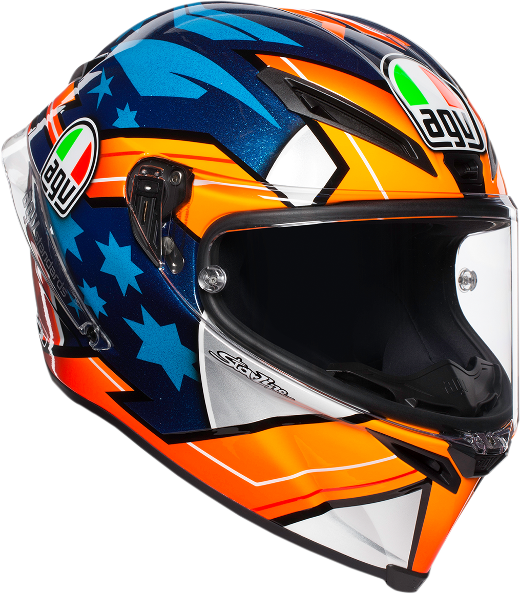 Agv Unisex Corsa R Full Face Motorcycle Riding Street Road Racing Helmet