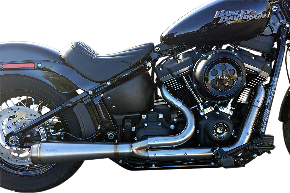 Trask Assault 2-1 Stainless Exhaust System 18-20 Harley Softail FLSL FXLR FXDR