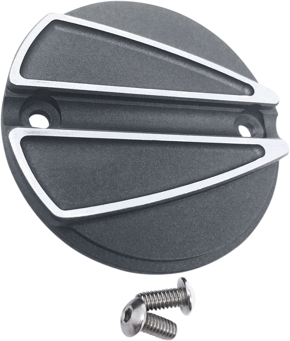 Covingtons Tungsten Gray Ripper Points Cover for 17-18 Harley M-Eight