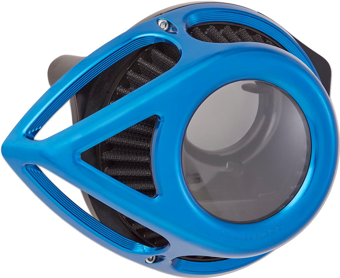Arlen Ness Blue Clear Tear Air Filter Cleaner Kit 00-17 Harley Dyna Touring FLHT