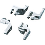 CHROME DRIVER FLOORBOARD RELOCATION BRACKETS