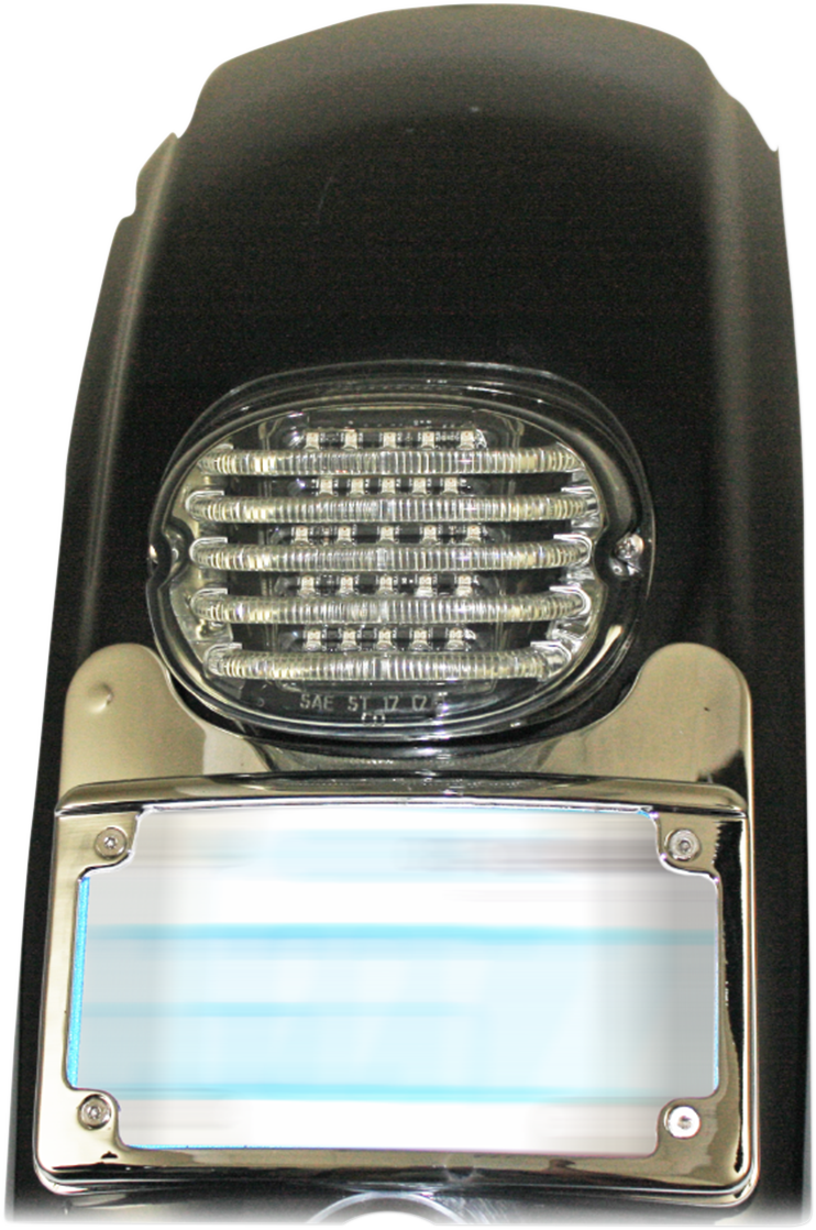 Custom Dynamics Chrome Turn Signal Eliminator Light for 09-19 Harley Touring