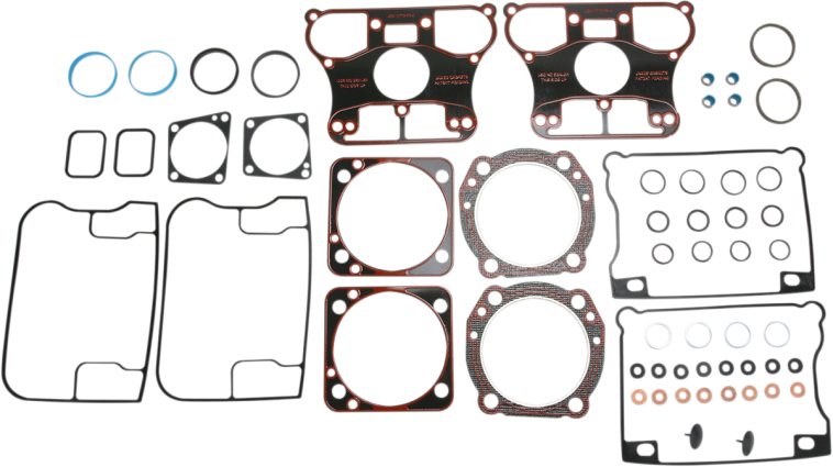 james gasket evo top end gasket kit 92-99 harley dyna touring softail fxst  | jt's cycles