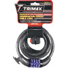 TRIMAFLEX™ COILED CABLE LOCKS