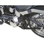 REAR SOFTAIL FOLDING FLUSH-MOUNT FOOTPEGS