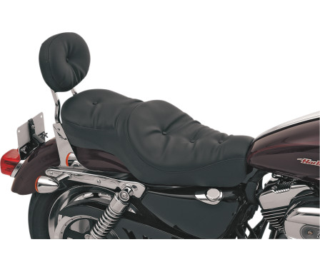LOW-PROFILE WIDE TOURING SEATS-