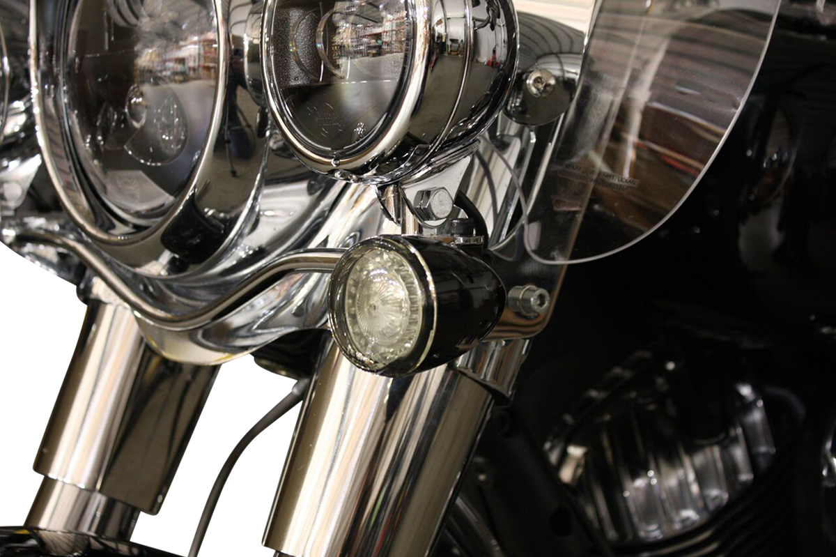 Custom Dynamics Chrome Probeam Front LED Turn Signal Kit for 14-19 Indian Chief