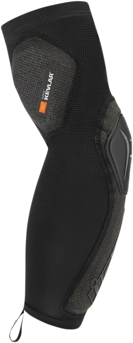 Icon Unisex Field Armor Black Compression Motorcycle Riding Street Arm Sleeve