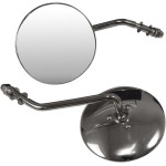 CHROME UNIVERSAL ROUND STEEL MIRRORS