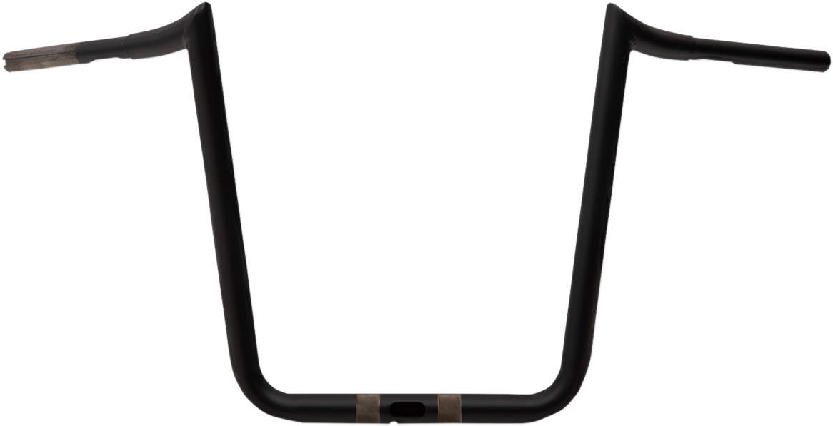 "La Choppers Flat Black 18"" Prime Ape Handlebar for 15-19 Harley Touring FLTRXS"