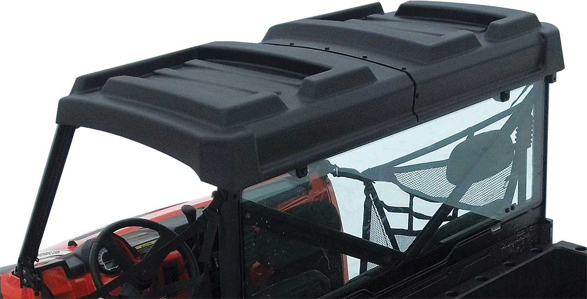 Moose Utility Black Side by Side UTV Roof for 13-18 Polaris Ranger Diesel XP