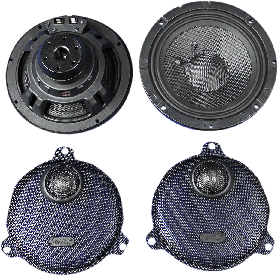 "J&M Rokker XXR 6.71"" Speaker Kit for 14-19 Harley Touring FLHX FLHTCUL FLHXS"