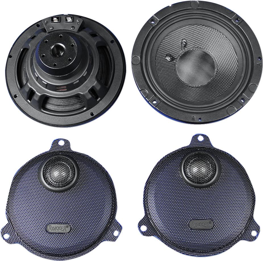 """J&M Rokker XXR 6.71"""" Speaker Kit for 14-18 Harley Touring FLHX FLHTCUL FLHXS"""