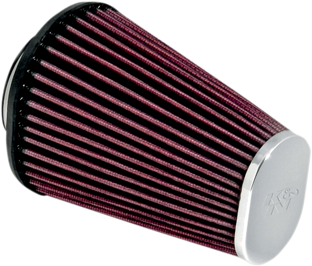 K&N Aircharger Chrome Tapered Air Filter 17-20 Harley Softail Touring FLHR FXST