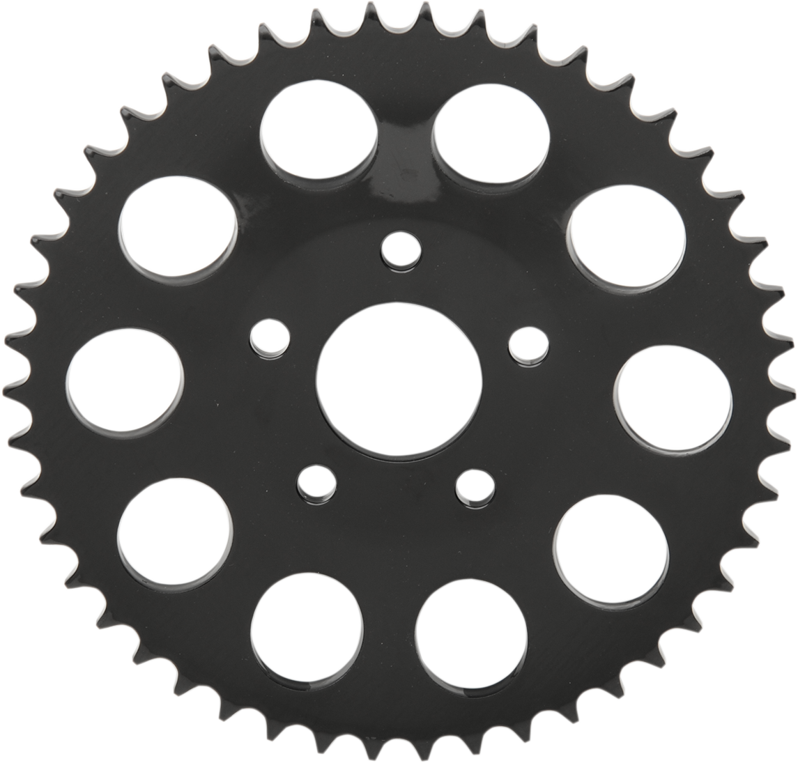Drag Specialties Black Dished 48 Tooth Sprocket for 86-99 Harley Touring Softail