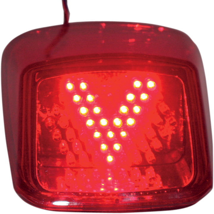 Custom Dynamics Red LED Rear V Taillight for 04-11 Harley Davidson V-Rod VRSCD