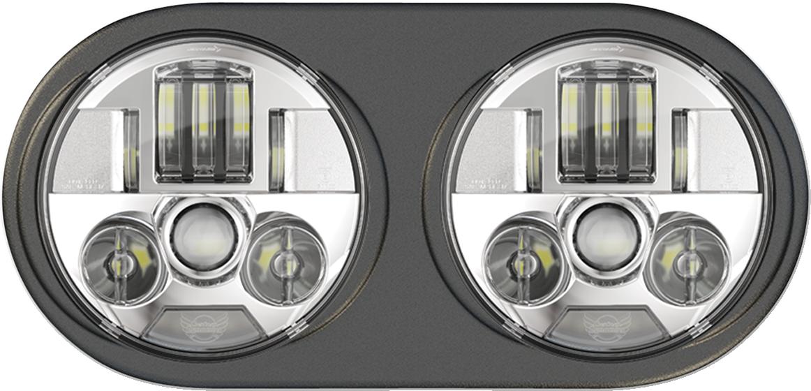 Custom Dynamics Chrome Probeam LED Headlight for 98-13 Harley Road Glides FLTR