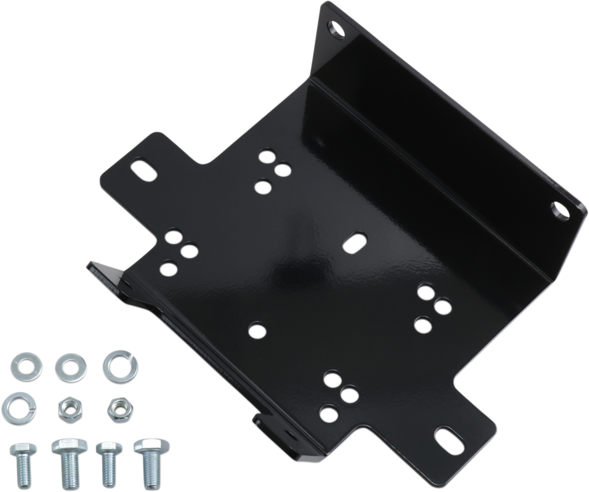 Moose Utility ATV Front Winch Mount for 07-15 Yamaha Grizzly 550 700