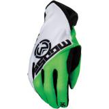 SX1 GLOVES GREEN/WHITE