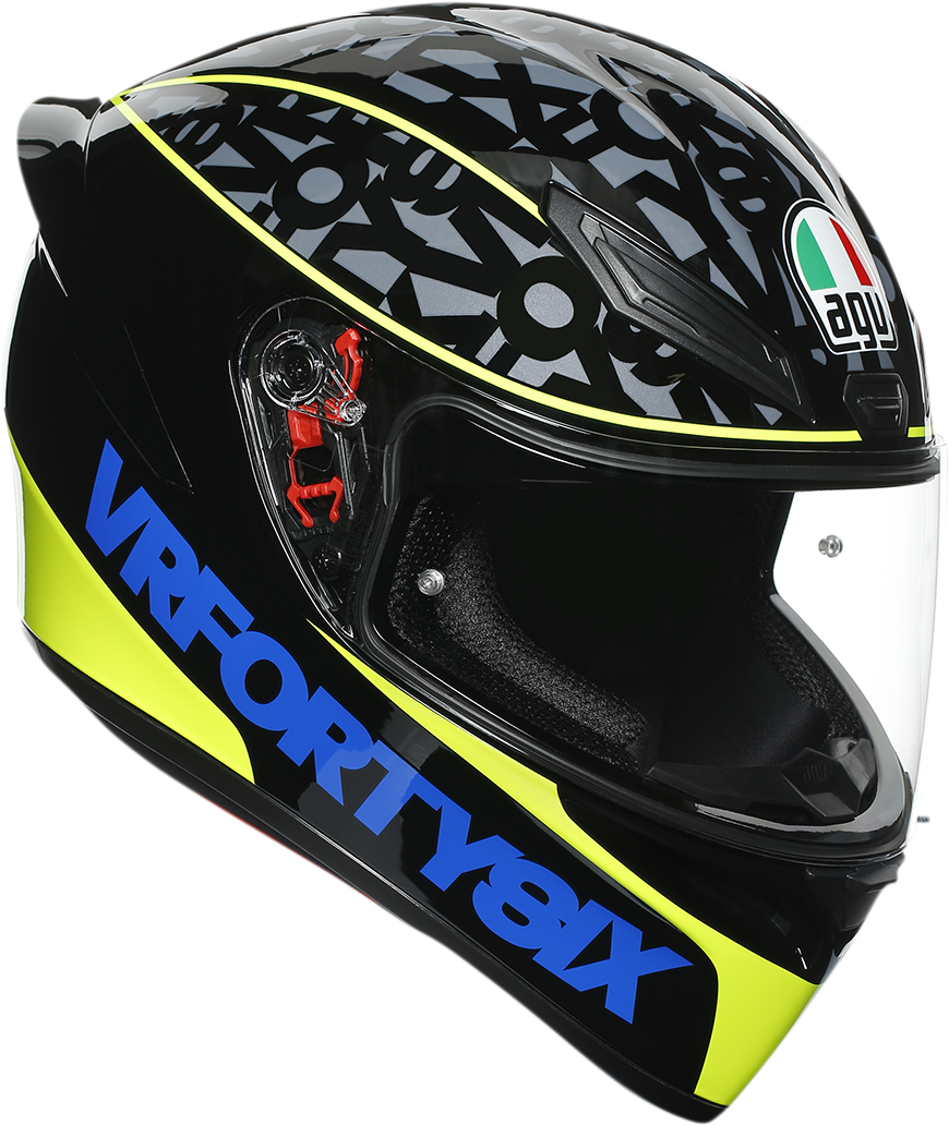AGV K1 Speed 46 Unisex Adult Motorcycle Riding Street Racing Fullface Helmet