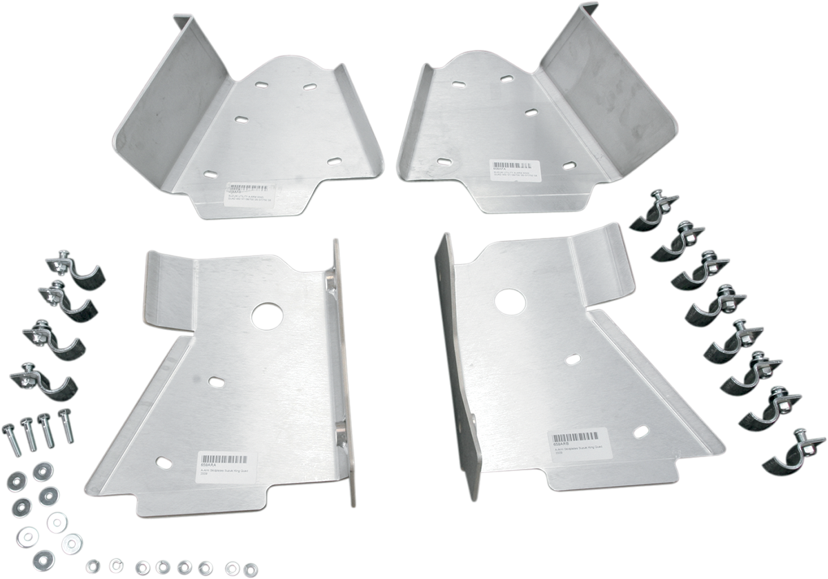 Moose Racing Front Rear ATV A-Arm Guards for 09-18 Suzuki King Quad 450 500 750
