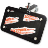 HORIZONTAL OR VERTICAL SIDE-MOUNT LICENSE PLATE KIT