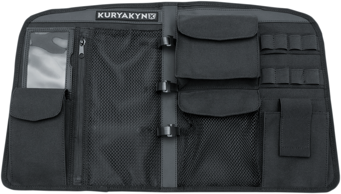 Kuryakyn 5298 Black Tour Pak Trunk Lid Organizer for 14-18 Indian Roadmaster