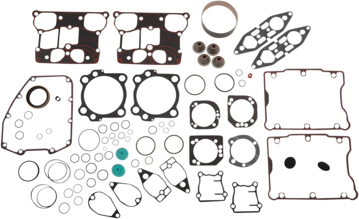 James Gasket Engine Motor Gasket Kit 05-17 Harley Dyna Touring Softail FLHX FXST