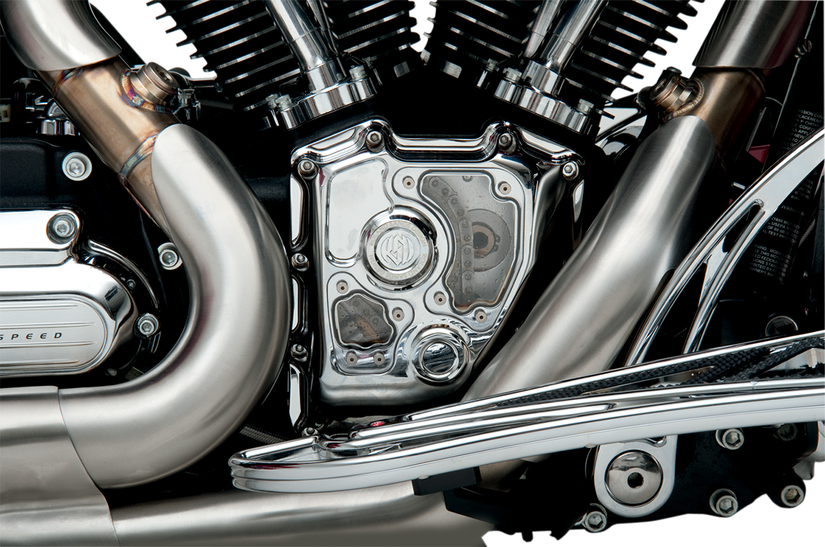 RSD Chrome Clarity Cam Cover For 02-16 Harley Davidson Touring Bagger FLHX FLHT
