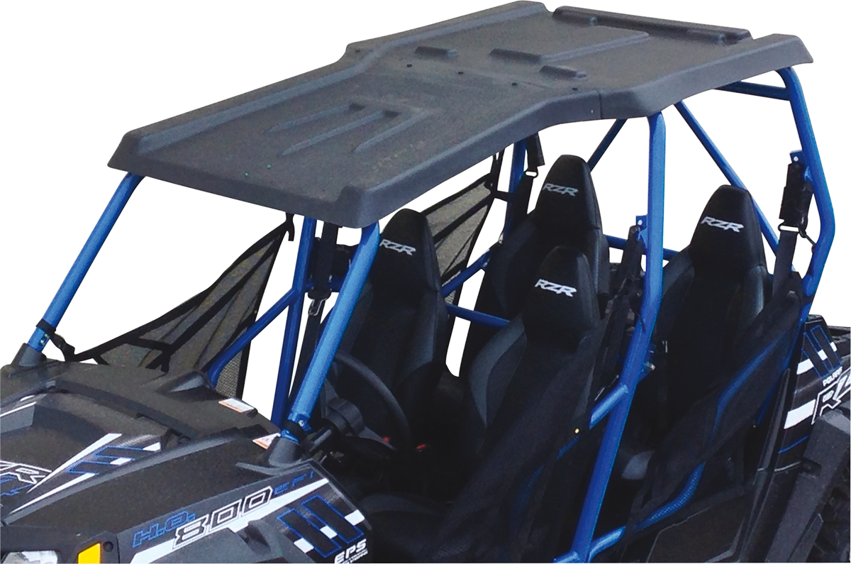 Moose Utility Black Side by Side 4 Seater UTV Roof for 10-14 Polaris RZR 1000