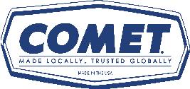 Comet 204332A Nylon Button Kit