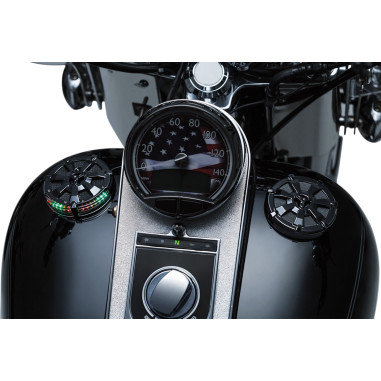 ALLEY CAT LED FUEL AND BATTERY GAUGE