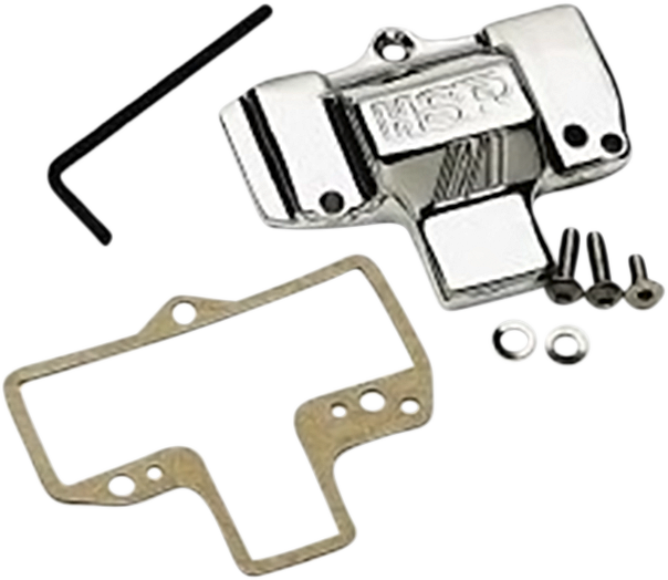 Mikuni Chrome Carburetor With Logo Top Cover For Harley Davidson