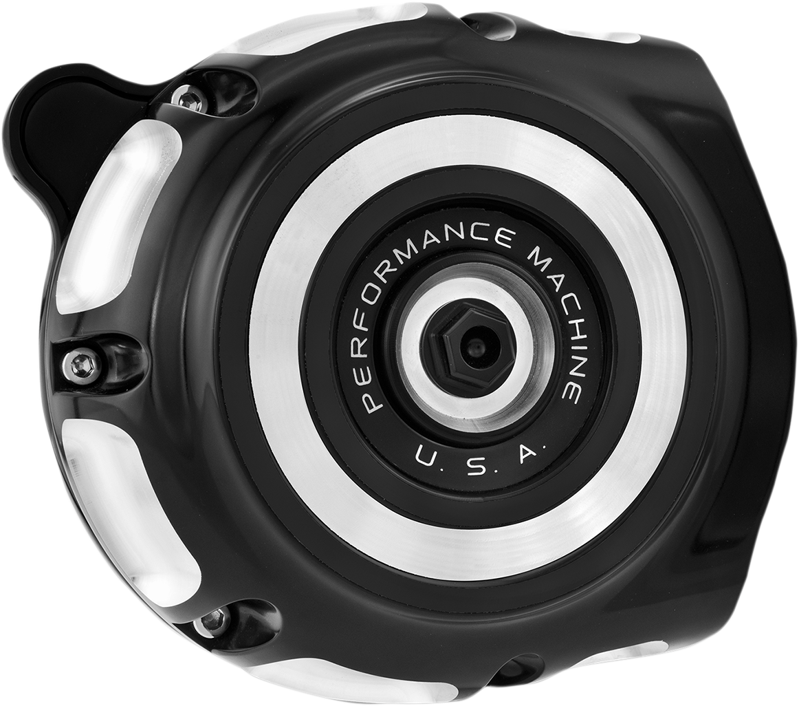 Performance Machine Black Air Cleaner Kit for 99-17 Harley Dyna Touring FLHX FXS