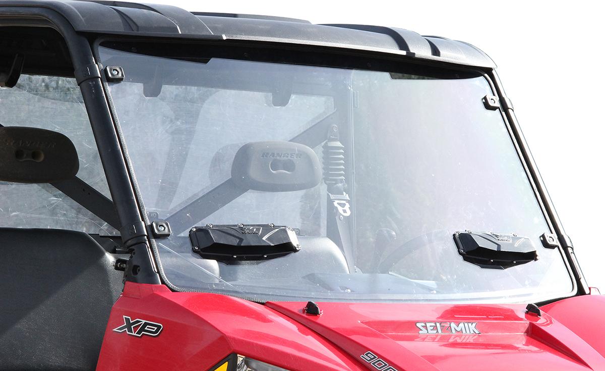Seizmik Clear Vented Full UTV Windshield for 15-16 Polaris Ranger 750 Mid Size