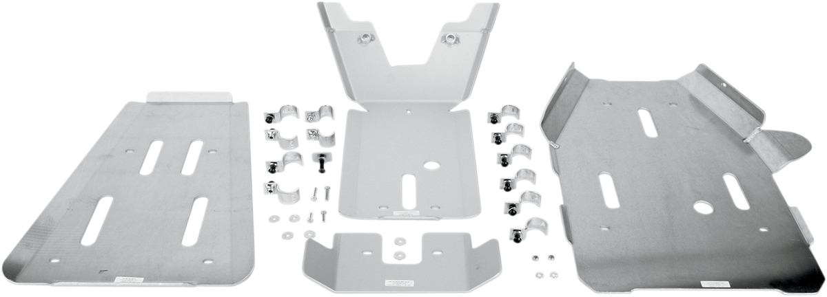 Moose Racing Full Body ATV Skid Plate for 07-15 Yamaha YFM 550 700 Grizzly 4x4