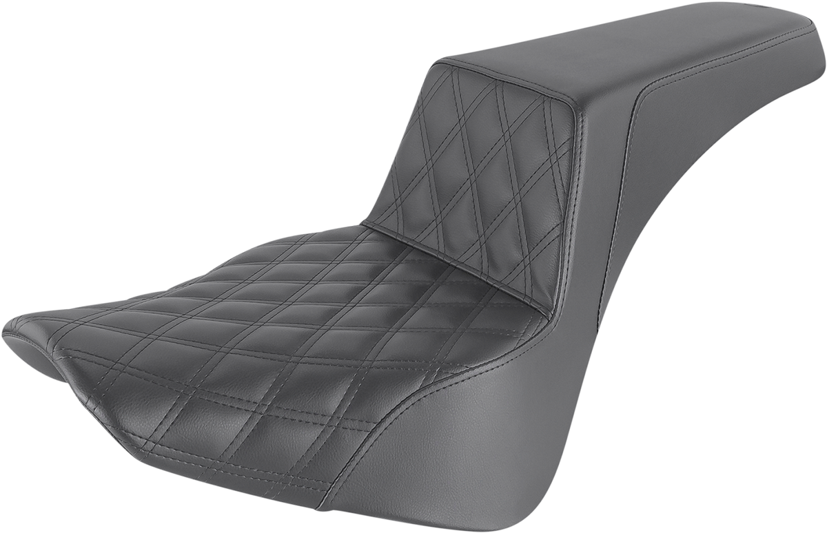 Saddlemen Step Up Driver LS Motorcycle Seat 18-20 Harley Softail FLSL FLHC FLDE