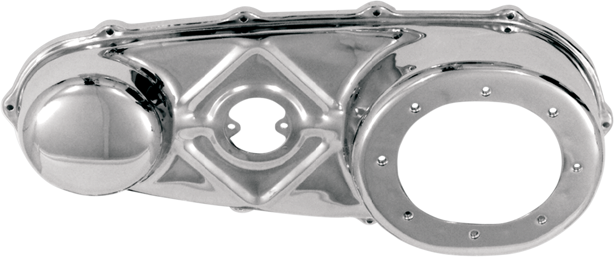 Paughco Chrome Outer Primary Cover for 55-64 Harley Hydra Glide FL EL Duo Glide
