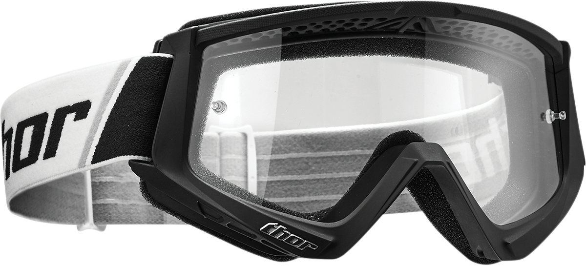 Thor Combat Fullface Offroad Riding Dirt bike Racing Helmet Clear Lens Goggles