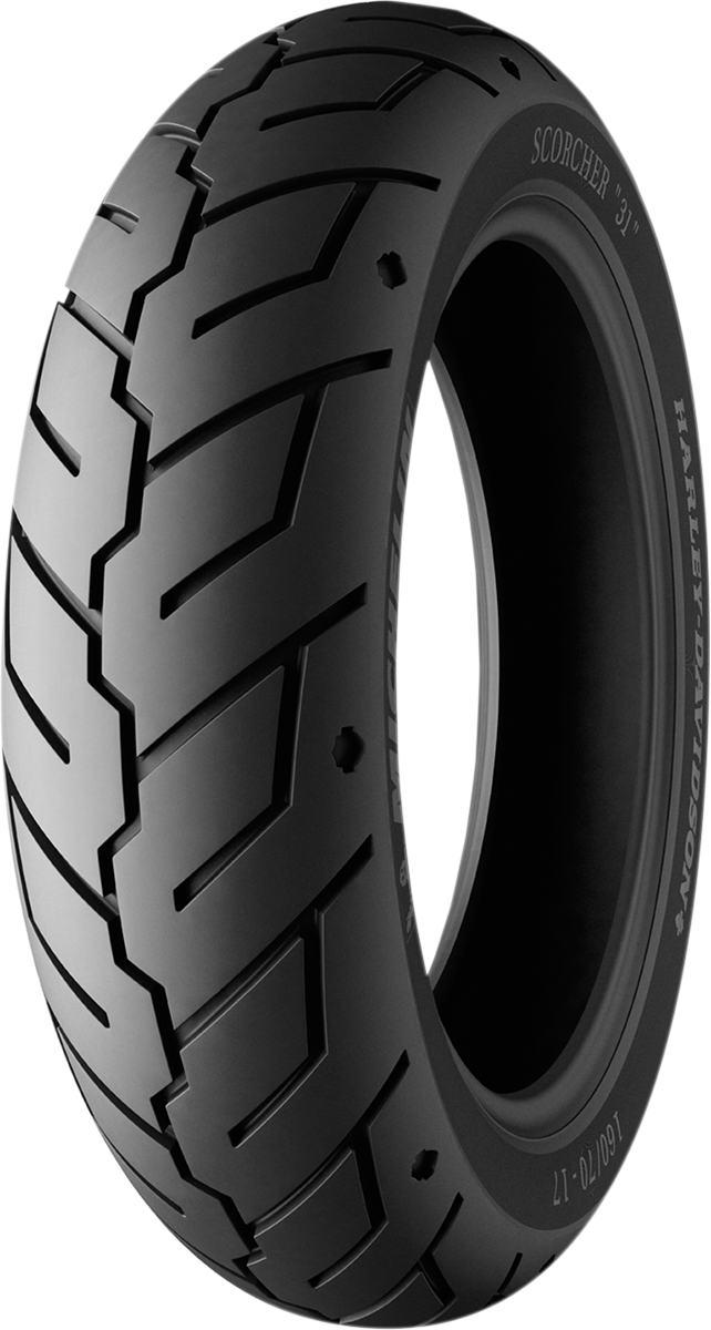 Michelin Scorcher 31 Rear 130/70-17 73V Cruiser Tire for Harley Davidson