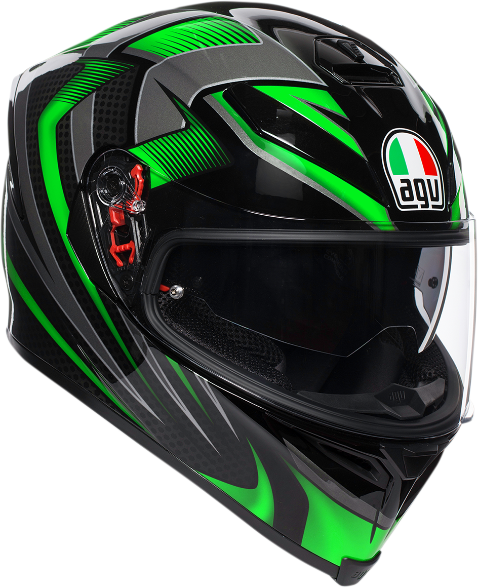 Agv Unisex K5 Hurricane Full Face Motorcycle Riding Road Street Racing Helmet