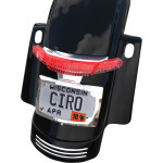 LATITUDE TAILLIGHTS WITH LICENSE PLATE HOLDER