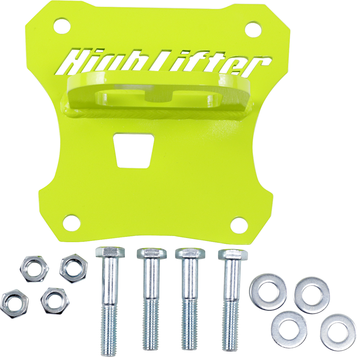 Highlifter Lime Rear UTV Side by Side Tow Hook 17-20 Polaris RZR XP 1000 4x4