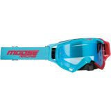 XCR HATCH GOGGLE - BLUE/RED