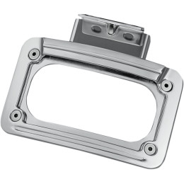 LED CURVED LICENSE PLATE FRAME WITH MOUNT