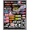 UNIVERSAL DECAL SHEETS